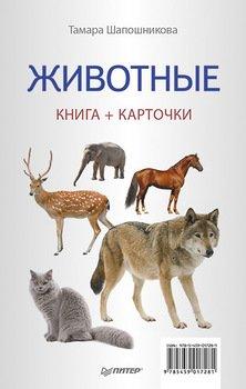 Животные. Книга + карточки