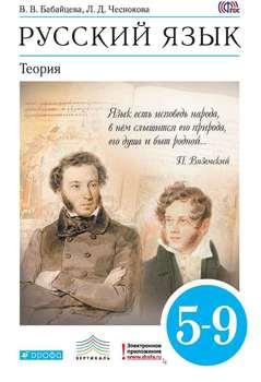Русский язык. Теория. 5-9 классы
