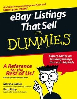 Ebay Listings That Sell For Dummies Skachat Fb2 Rtf Epub Pdf Txt Knigu Marsha Collier