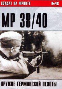 Пистолет-пулемет MP 38 40. Оружие германской пехоты