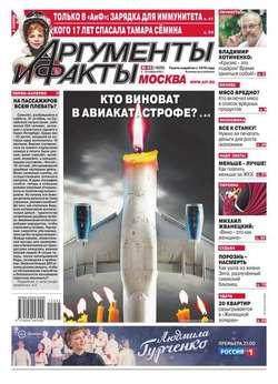 Аргументы и факты Москва 45-2015