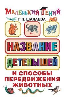 Название детенышей и способы передвижения животных