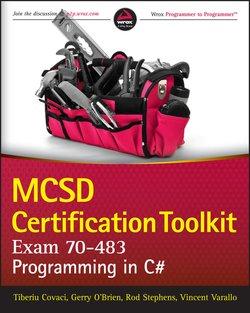 MCSD Certification Toolkit . Programming in C#