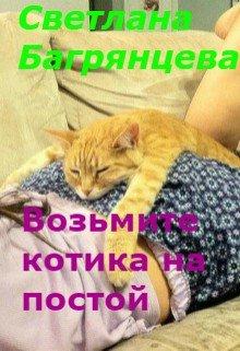 Возьмите котика на постой