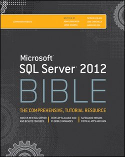 Microsoft SQL Server 2012 Bible