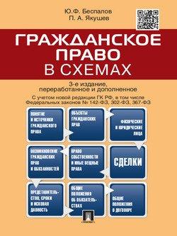 Гражданское право в схемах. 3-е издание. Учебное пособие