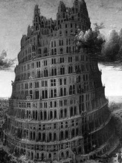 Вавилонская башня, или как народы разбрелись по миру после потопа