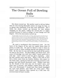 Океан, полный шаров для боулинга